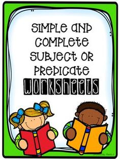 simple and complete subject or predicate