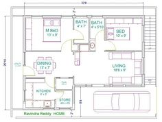 South Facing Home Plan Awesome south Facing House Plans north Facing House Vastu Plan 30 2bhk House Plan, Free House Plans, Duplex House Plans, Small House Plans, House Floor Plans, South Facing House, 30x40 House Plans, Home Addition Plans, Indian House Plans