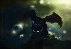 toothless no fish by Apofiss