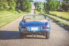The Jaguar E-Type was released in 1961 to unanimous praise from both the motoring media and the general public. At the time most sports cars have live My Dream Car, Dream Cars, Jaguar Type, Jaguar Cars, E Type, Classic Cars, Irene, Autos, Vintage Classic Cars