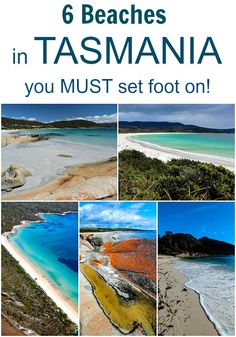 6 Beaches in Tasmania, Australia you must set foot on! It is for my next vacation time. Oh The Places You'll Go, Places To Travel, Places To Visit, Travel Destinations, Dream Vacations, Vacation Spots, Vacation Places, Tasmania Travel, Future Travel