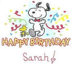 happy birthday sarah sign - Google Search