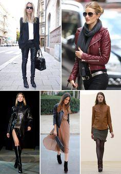 casacos couro