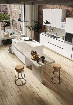 Beautiful, minimal kitchen offers design freedom