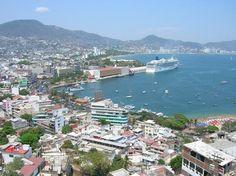 Port of Acapulco, Mexico