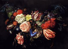 Flower Garland from Jan Davidsz de Heem