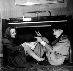 Edith Piaf & Jean Cocteau