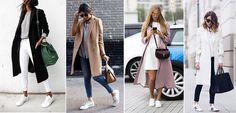 Diversas maneiras de usar tênis branco
