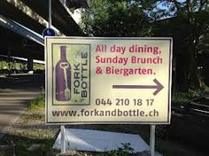 fork and bottle restaurant zurich photo - Google Search Zurich, Fork, Things To Do, Restaurant, Dining, Google Search, Drinks, Bottle, Beer Garden