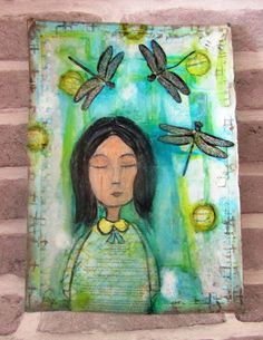 The Artistic Stamper Creative Team Blog: Dragon fly girl By Gemma