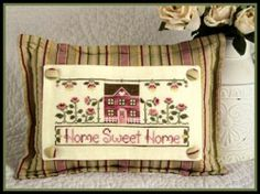 Home Sweet Home Cross Stitch Inspiration Photo