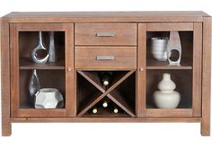 Shop for a Cutler Bay Server at Rooms To Go. Find FL-BonusBuy-22 that will look great in your home and complement the rest of your furniture. #iSofa #roomstogo