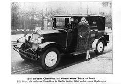 Berliner Taxi 30er Jahre