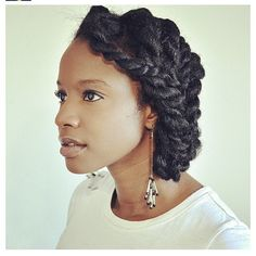 So simple, yet so beautiful!!  #luvyourmane #twists #naturalhair