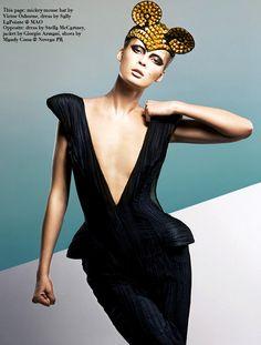 The FashionBirdcage: Tiiu Kuik by Kevin Sinclair and Alex Van Der Steen for Vestal Magazine