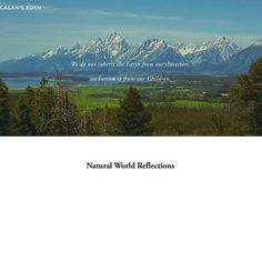 Do you enjoy reading about Nature? http://www.calans-eden.com