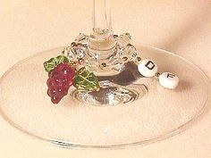 Use letter beads on plain earring hoops to make wine glass charms with each party guests initials so they don't lose their glass! Craft Projects, Craft Ideas, Letter Beads, Loom Bands, Wine Glass Charms, Beading Projects, Party Guests, Initials, Christmas Gifts