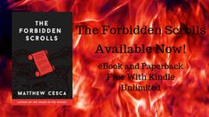 "By the time this blog posts, my new novel ""The Forbidden Scrolls"" will be out in the world (or at least the U.S.).  It's been an amazing ..."