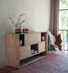 Simple Wood Furniture from Ethnicraft in Belgium : Remodelista