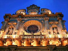 Basilica di Santa Croce, Lecce, Puglia