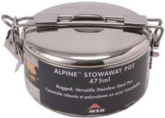 MSR Alpine 1.1L StowAway Cooking Pot: 37oz