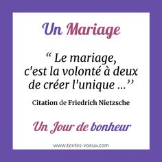 Belle citation pour faire de mariage ou carte de félicitations aux mariés