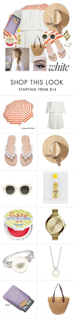 """""""Summer"""" by kathryn-myers-i on Polyvore featuring Concord, Supergoop!, MICHAEL Michael Kors and Mikimoto"""