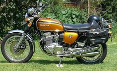 Honda 750 Four Candy Gold by stkone on Flickr.