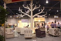 ABC Kids Petitnest Debuts Their Modern Nursery Decor - Child Mode Craft Booth Displays, 3d Tree, Modern Nursery Decor, Abc For Kids, Showroom Design, Holiday Market, Paper Tree, Wooden Tree, Pause