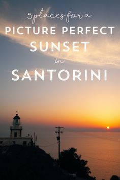Santorini is world famous for its sunsets, and rightly so. Check out this review of the best spots on the Greek island to watch that perfect sunset.