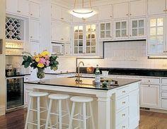 Moderne Küchen Glasfliesen Ideen