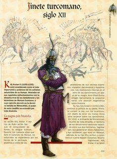 Turcoman cavalryman, XII c.