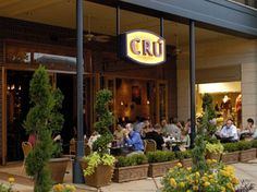 Cru Wine Bar - The Woodlands:  Nice wine bar in Market Street and a great patio for Sunday brunch.
