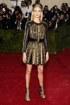 The Met Gala 2014: what they're wearing Rosie Huntington-Whitley