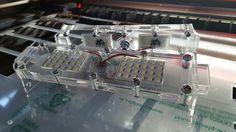 Lasercutting LED lamp for CNC Machines