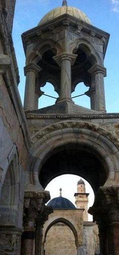 المسجد الأقصى Al-Aqsa Mosque Islamic Architecture, Beautiful Architecture, Art And Architecture, Beautiful Mosques, Beautiful Places, Palestine Art, Travel Pictures, Travel Pics, Dome Of The Rock