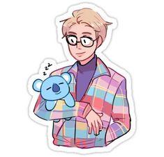 Ideas how to draw bts cute Pop Stickers, Tumblr Stickers, Planner Stickers, Rap Lines, Bts Drawings, Bts Chibi, Kpop Fanart, Sticker Design, Cartoon Art