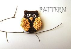 (4) Name: 'Crocheting : Hooty Owl Crochet Pattern