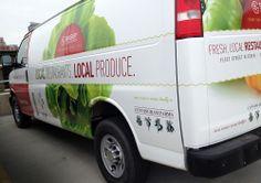 Restaurant Produce Van