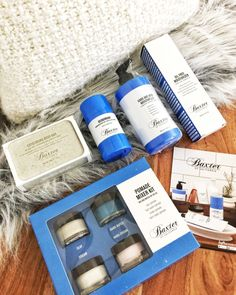 Influenster Vox Box - Baxter Men Skin Care Review