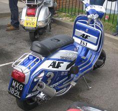 Arthur Francis TS1 Lambretta