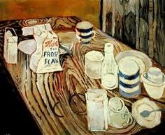 Breakfast with John Bratby.