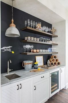 Tips To Build Modern Bar Cabinet Designs For Home