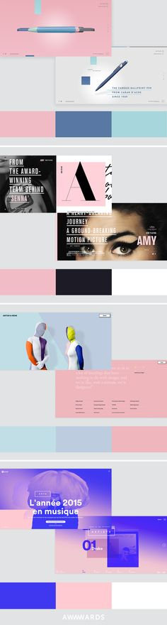 How Pantone Colors of the Year Rose Quartz and Serenity Join the Story of Web Design: Web Ui Design, Graphic Design, Rose Quartz Serenity, Ui Web, Website Design Inspiration, Type Setting, Wedding Dj, Color Of The Year, Interactive Design