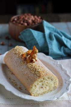 Hazelnut Cake Roll and Our Engagement Story