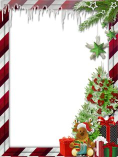 christmas transparent images | Transparent Christmas Photo Frame with Cute Reindeer