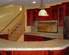 44 Best Brilliant Green Granite Kitchen Countertops images ...