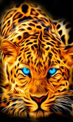 48213410 Diamond Painting - Full Round - Leaopard in 2020 Majestic Animals, Animals Beautiful, Cute Animals, Tier Wallpaper, Wolf Wallpaper, Big Cats Art, Cat Art, Wild Animal Wallpaper, Tiger Artwork