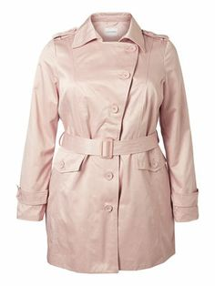 Cool trench coat for spring! #junarose #trenchcoat #fashion #spring #jacket #plussize