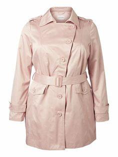 Cool trench coat for spring! #junarose #trenchcoat #fashion #spring #jacket #plussize